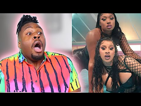 Cardi B Megan Thee Stallion Wap Reaction Youtube