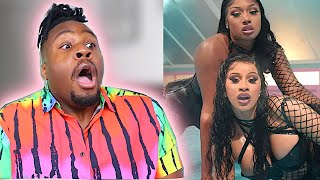 "CARDI B, MEGAN THEE STALLION "" WAP"" REACTION!"