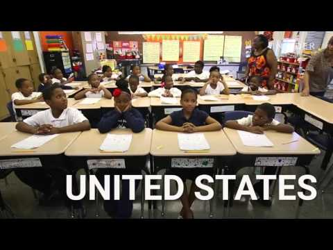 What a classroom looks like in 27 countries around the world