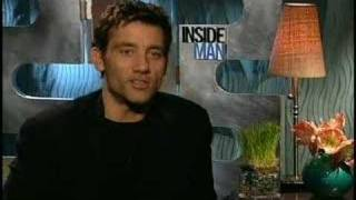 Clive Owen interview for Inside man