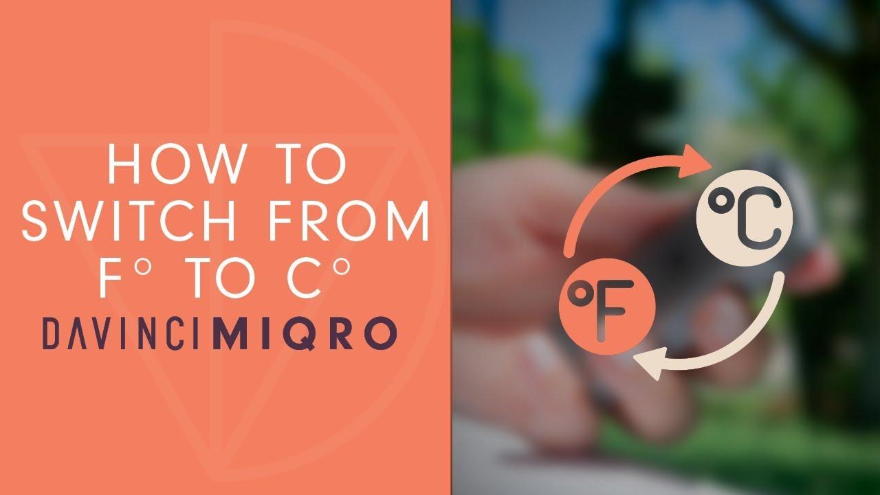 Need Help Exploring Your DAVINCI MIQRO? - DaVinci
