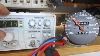 Réparation du compteur d'une Porsche 944