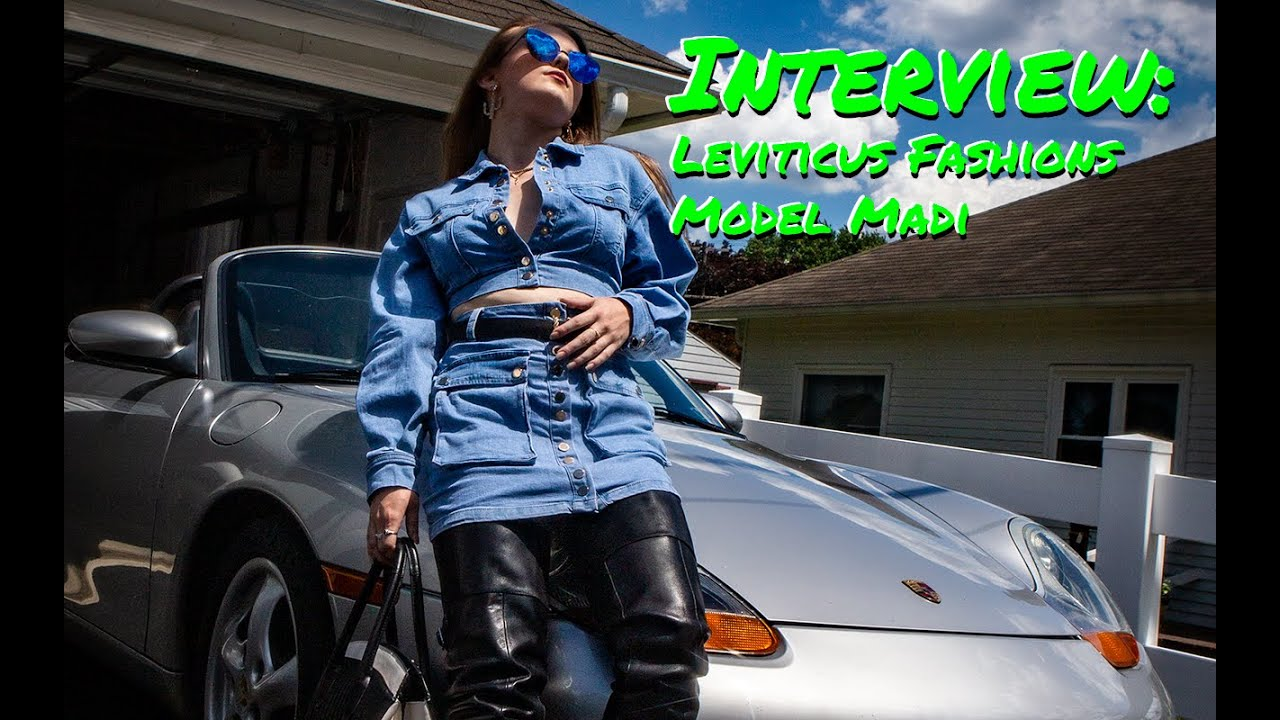 Leviticus Fashions Model Madi and her 1999 Porsche Boxster Interview