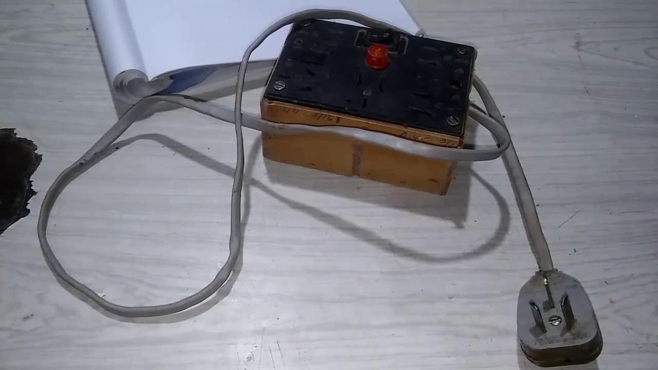 Circuito Zapatilla Electrica : Armando una zapatilla eléctrica casera youtube