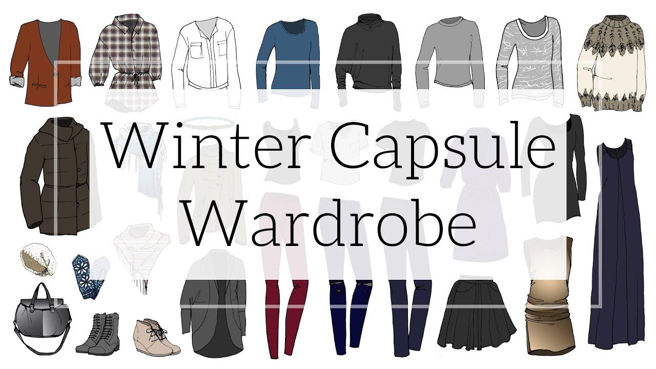 Winter 2015 Capsule Wardrobe