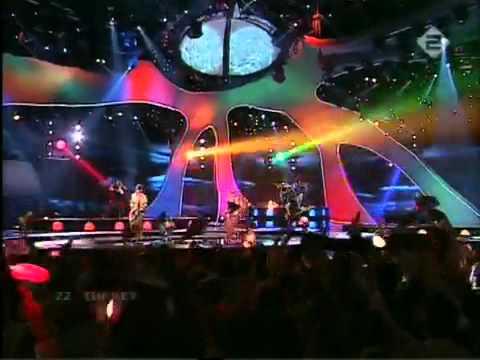 Athena - For Real (Canlı) Eurovision Şarkı Yarışması 2003