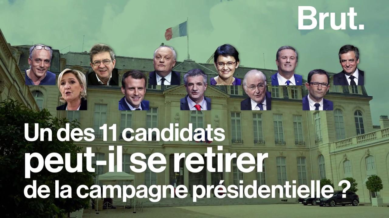 Un candidat peut-il se retirer de la présidentielle ?