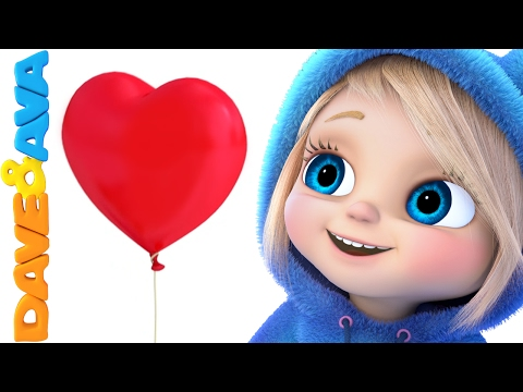 Thumbnail: 💝 Valentine's Day | Nursery Rhymes and Baby songs from Dave and Ava 💝
