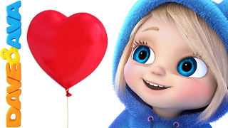 💝  Valentine's Day | Nursery Rhymes and Baby songs from Dave and Ava 💝
