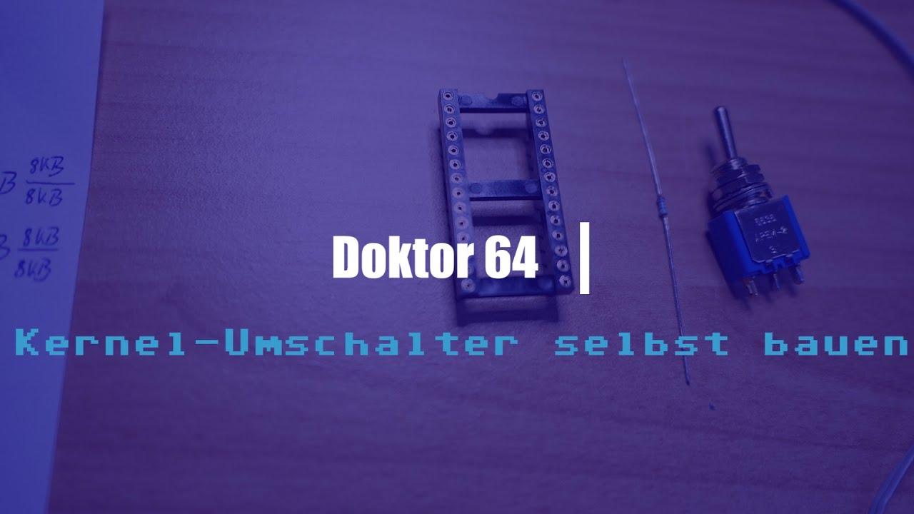 Dr 64 #07 | Commodore C64 Tutorial | Kernel-Umschalter selber bauen (Jiffy  DOS)