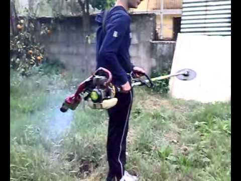 Tagliare facilmente erba e rovi con 4 monofly montati s for Bcs 602 con piatto taglia trincia erba