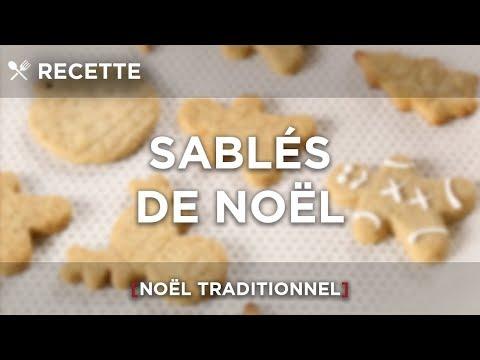 recette- -sablÉs-de-noËl- -noËl-traditionnel-🥧🥧☕