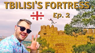 Tbilisi's INCREDIBLE fortress - Backpacking Around GEORGIA and ARMENIA Travel Series Episode 2