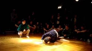Bgirl Lerok & Bgirl Loca vs Bboy Tomek & Bboy Rawness