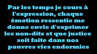 Les Passants- Paroles- Lyrics