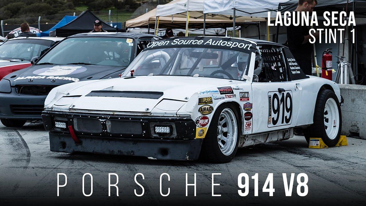 Porsche 914 V8 | Taylor Stint 1 | Laguna Seca ChumpCar 2015 | Open