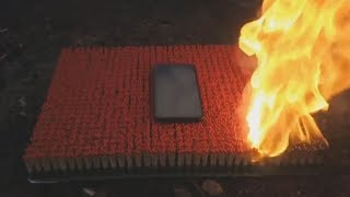 junge verbrennt neues iPhone X