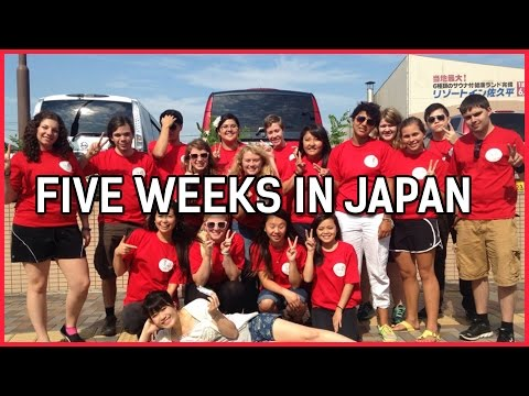 Five Weeks in Japan | Guy Healy USA Summer Camp Trip