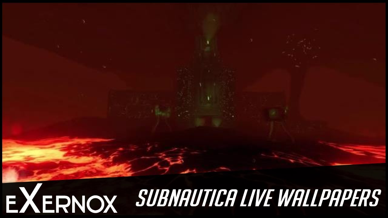 Lava Zone - Subnautica Live Wallpaper