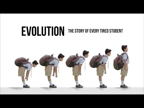 Evolution - The story of every tired student