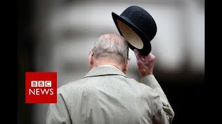 Gambar cover Prince Philip carries out final official engagement - BBC News