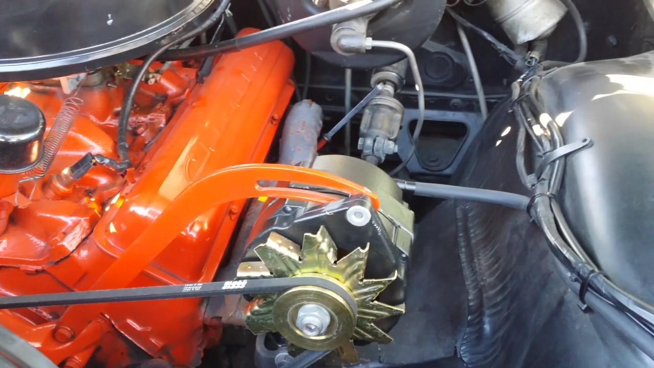 64 Chevy C10 Wiring Diagram 65 Truck 1963 Impala Alternator Set Up Youtube