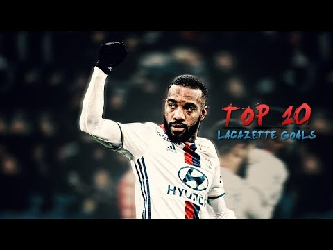 Alexandre Lacazette - Top 10 Goals Of 2016/17
