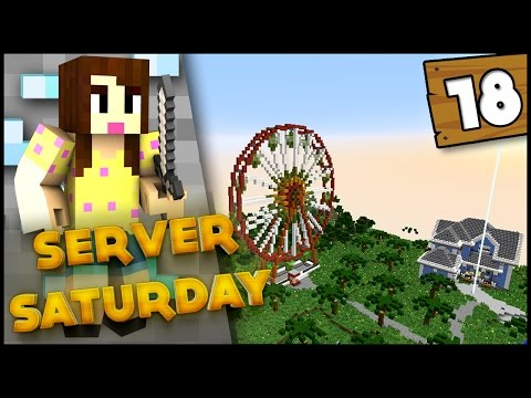 Minecraft SMP: Server Saturday 1.8 - Ep 18 - FERRIS WHEEL PARTY!!