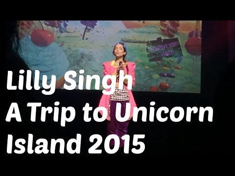 lilly singh superwoman at2ui full show melbourne 5 june 2015 | bronte