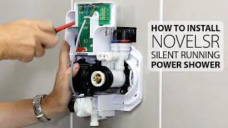 Triton Novel SR | Silent Running Power Shower | How to install