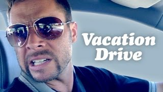 DAD LOSES IT ON VACATION DRIVE