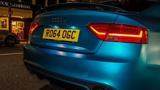 Insane Audi RS5 w/Capristo Exhaust System - Raw Revs & Acceleration