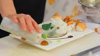 Мастер-класс по приготовлению суши. Темари с лососем