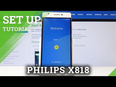How To Activate PHILIPS X818 - Set Up Process