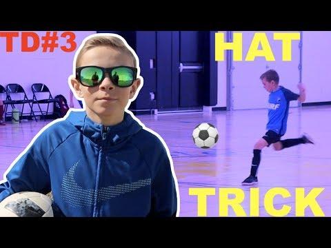 Tayden Scores Hat Trick at Futsal Soccer Game ⚽️⚽️⚽️