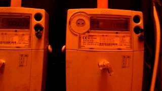 nowe elektroniczne liczniki prądu w pge dystrybucja rejon energet łowicz