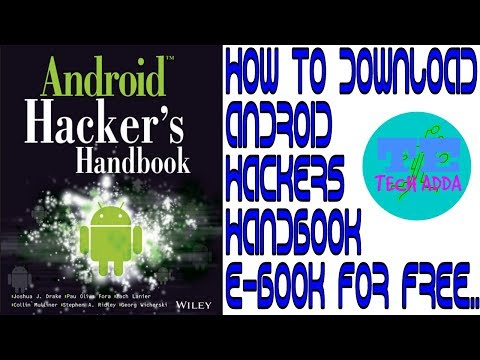 how to download android hackers handbook ebook for free