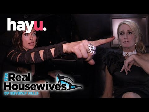 Kyle Reveals Kim's Alcoholism In The Limo Fight | The Real Housewives of Beverly Hills