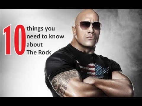 10 things you need to know about The Rock