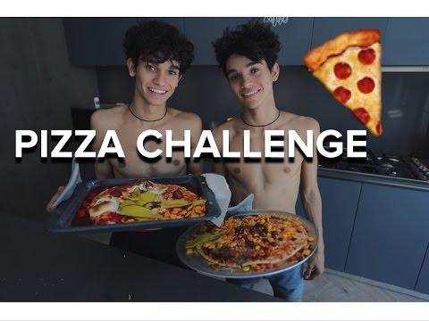TWIN PIZZA CHALLENGE!