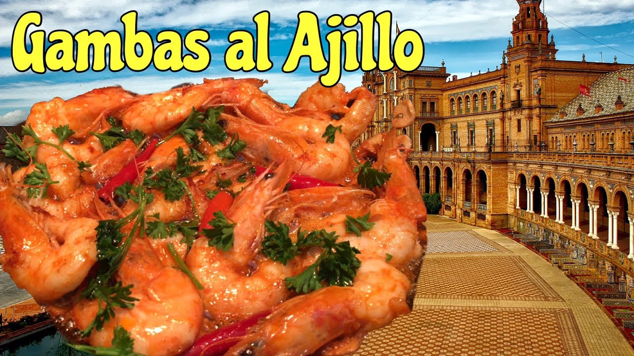 Spanish Tapas Gambas Al Ajillo Collaboration With Cocichanel Youtube