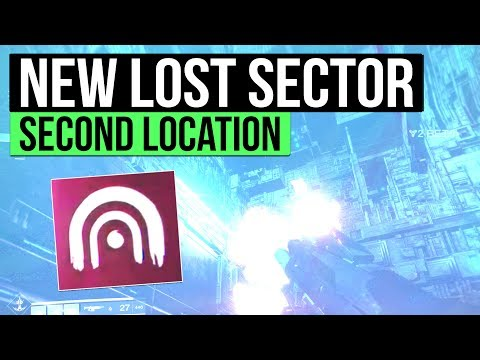 Destiny 2   SECOND LOST SECTOR DISCOVERED! - How To Find The Second Lost Sector Location on Nessus!