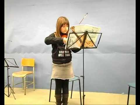 Audició de l'Escola de música El Gavià de l'Escala