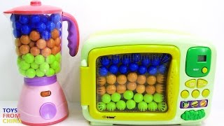 Microwave And Blender Toy Appliance Candy Surprise Toys For Children