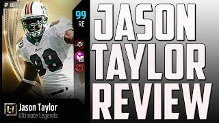 How Good is 97 Overall UL Jason Taylor? MUT 18 Card Review