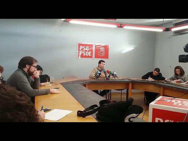 Gonzalo Caballero critica la política económica de la Xunta