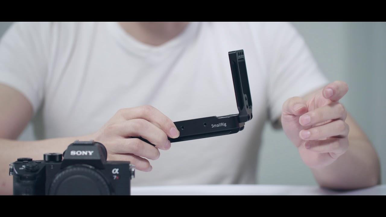 Smallrig L Bracket For Sony A7iii A7m3 A7riii A9 2122 Youtube Plate Kamera Alpha A6000
