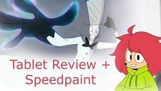 Pen Display Tablet Review + Speedpaint