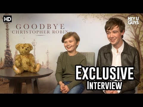 Will Tilston & Alex Lawther  Goodbye Christopher Robin Exclusive
