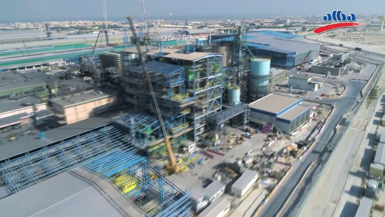 Alba Line 6 Expansion Project is on Track